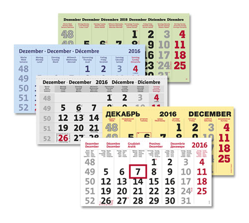 Promotional Calendars for the Entire World