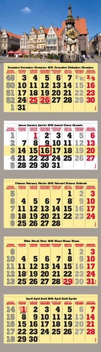 Expansion of the Portfolio of Promotional Calendars