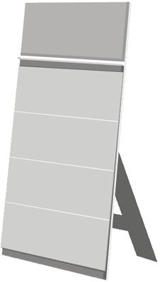 terminic Tischkalender Tischständer Quadro