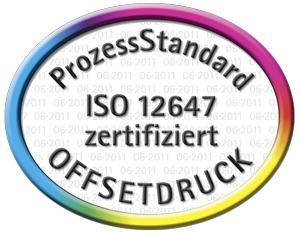 Certified Print of the terminic Promotional Calendars according to PSO